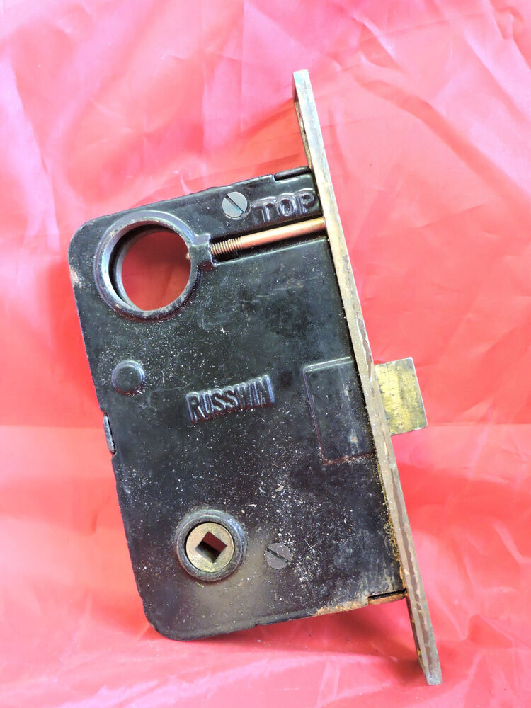 Large Antique Victorian Russell Erwin Entry Mortise Lock