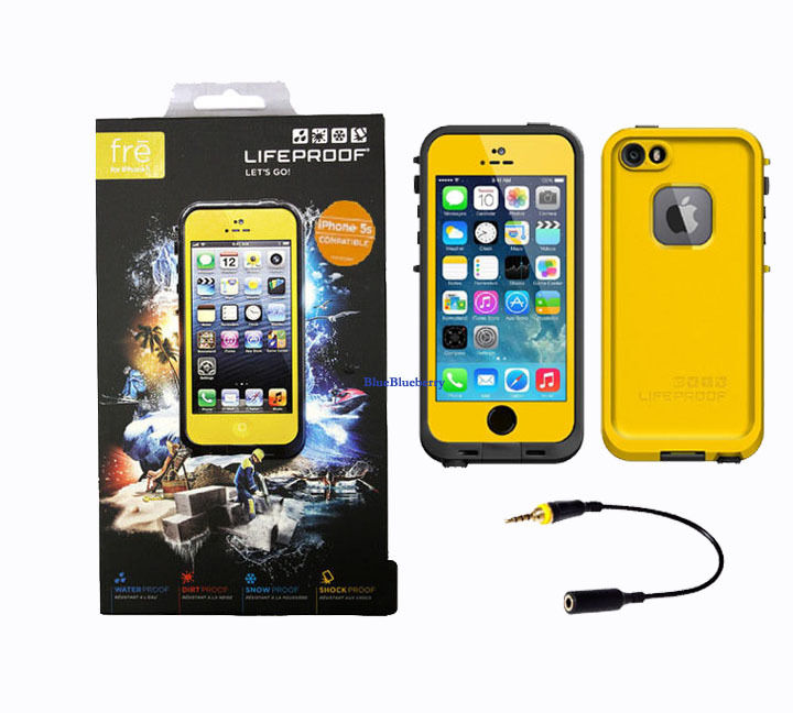 lifeproof fre iphone 5 new authentic lifeproof fre waterproof shockproof cases 2637