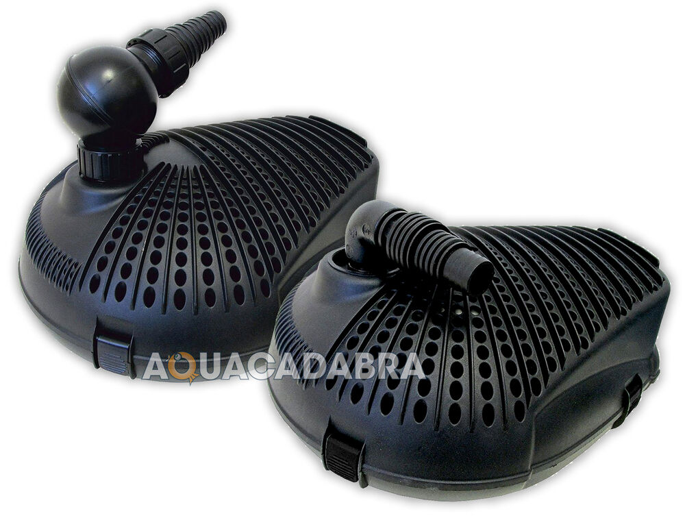 Lotus olympus pro pond pump filter waterfall feature fish for Fishpond filters and pumps