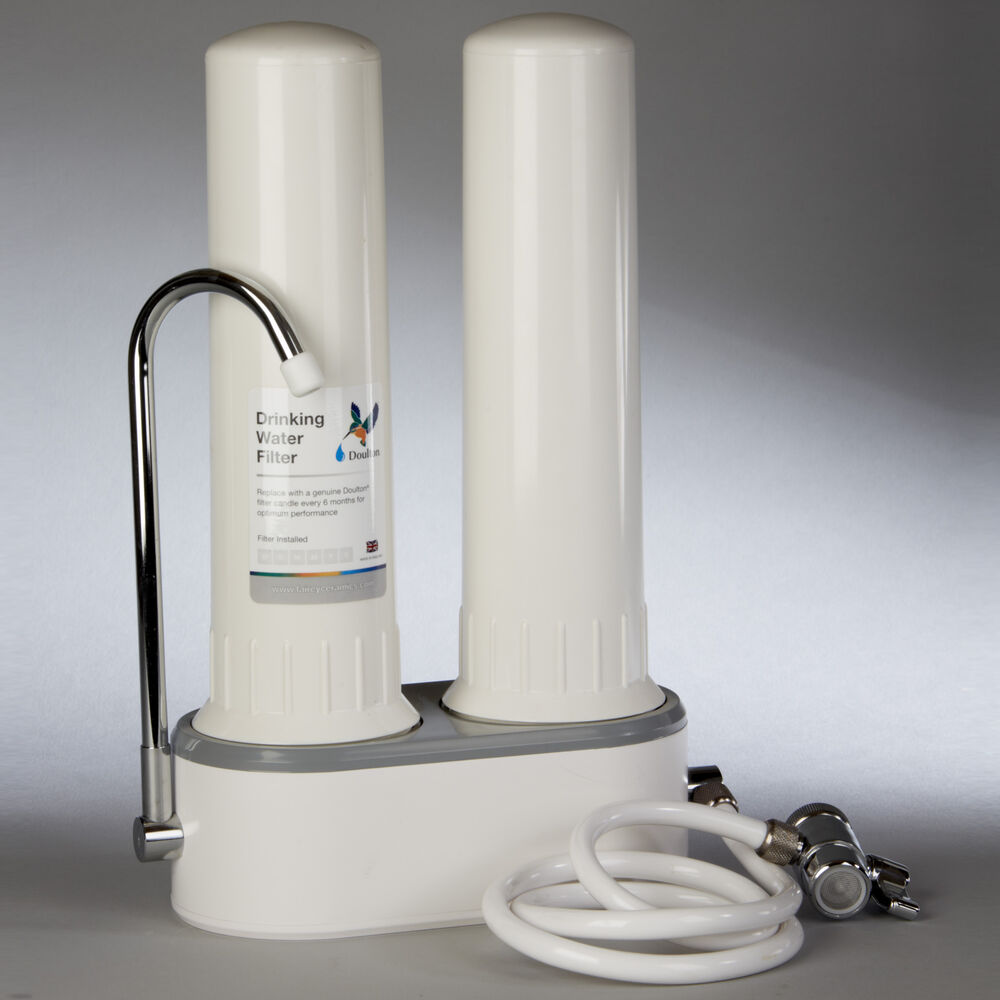 Doulton W9380003 Two Stage Countertop Water Filtration