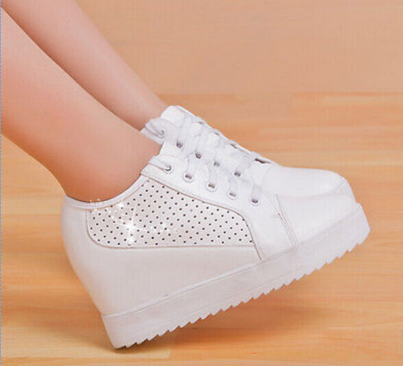Wedge Heel Athletic Shoes