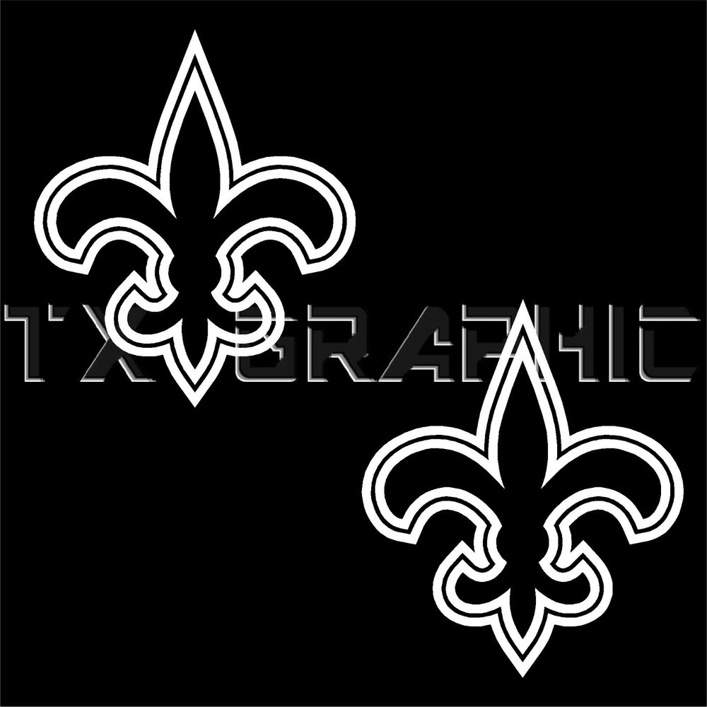 new orleans saints fleur de lis vinyl decal la louisiana home decor fleur de lis lafayette la trend home design