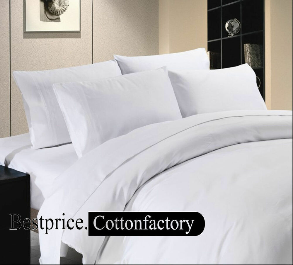 High quality sets 1000 1500 thread count hotel for High thread count bed sheets
