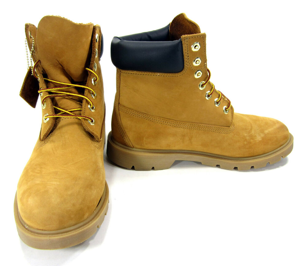 timberland shoes 6 inch premium wheat brown boots size 10