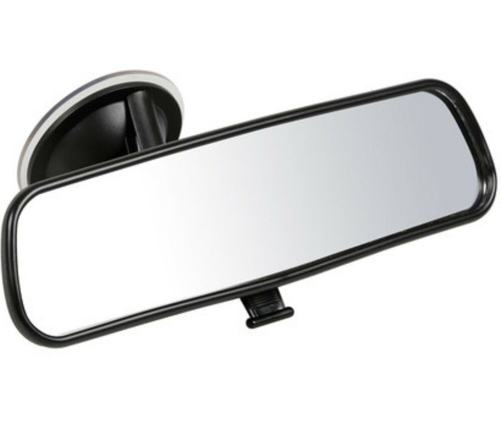 car interior mirror quality suction dipping rear view learner driver backup tow ebay. Black Bedroom Furniture Sets. Home Design Ideas