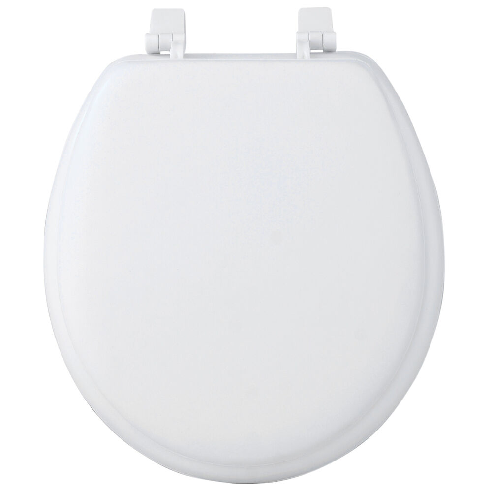 Fantasia 17 round soft vinyl foam cushioned padded toilet - Padded toilet seat cushion ...