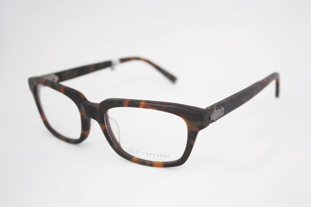 How Eyeglass Frames Should Fit : JOHN VARVATOS V357 Universal Fit eyeglasses Frame Matte ...