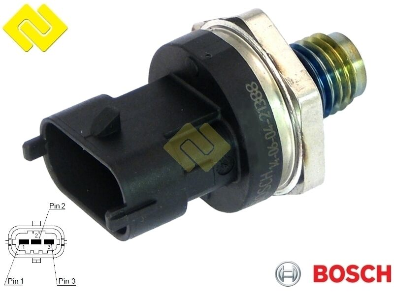 renault fuel pressure diagram smart fuel pressure diagram genuine bosch 0281006189 cr fuel pressure sensor 1800 bar ,for nissan ,renault , 4047025221658 ... #13