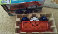 Emerson tabletop air hockey game in box