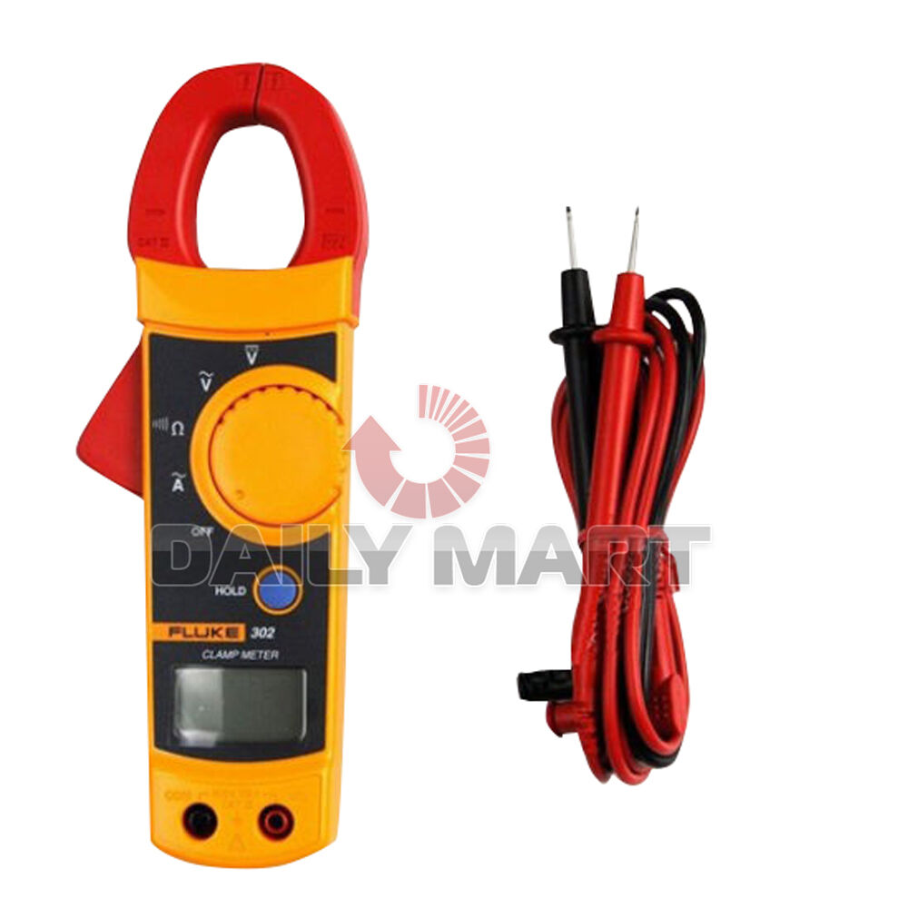 Fluke Voltmeter Tester : Brand new fluke digital clamp meter ac dc multimeter