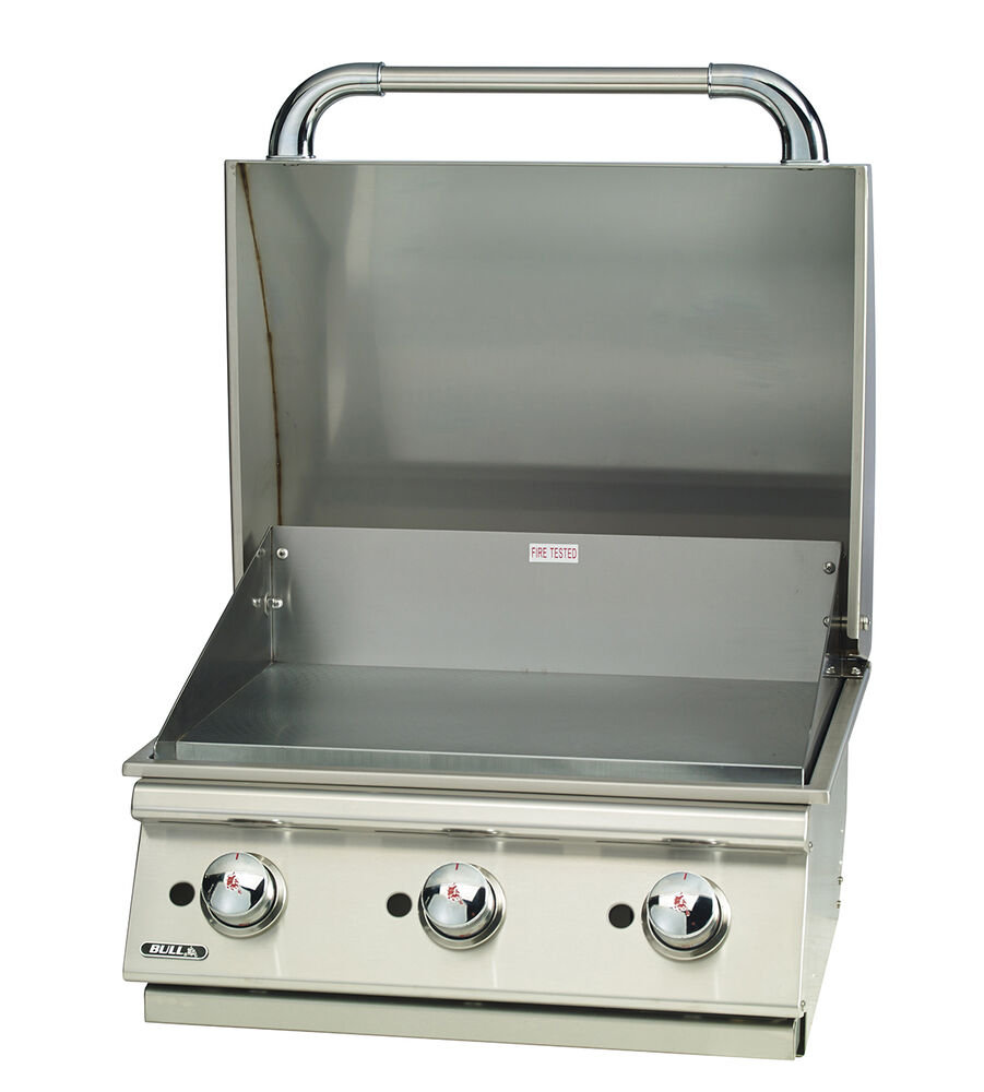 Built In Griddle ~ Bull quot built in commercial style griddle natural