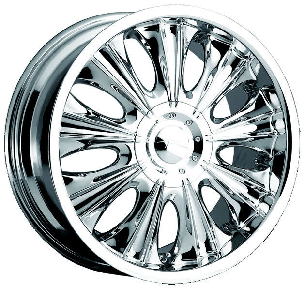 New Chrome 18 Inch Cadillac WHEEL Vogue Martina Deville