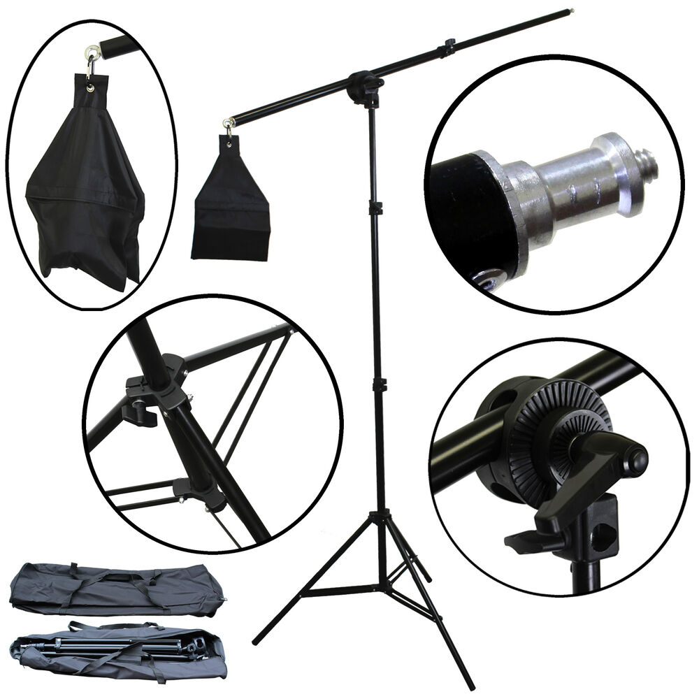 BlueDot Studio Photo Overhead Boom Light Stand 7' Stand