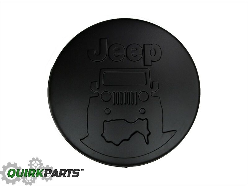 07 17 Jeep Wrangler New Hard Shell Tire Cover Quot Jeep On The