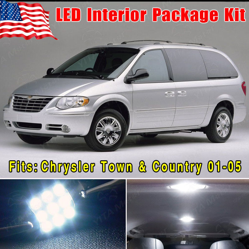 2005 Chrysler Town Country: 14PCS White SMD LED Conversion Package Kit For 2001-2005