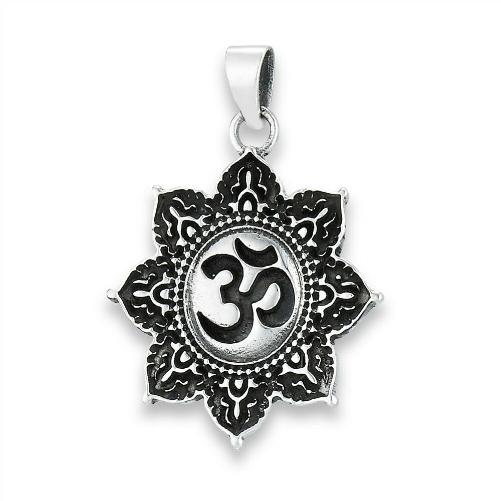 how to wear om pendant