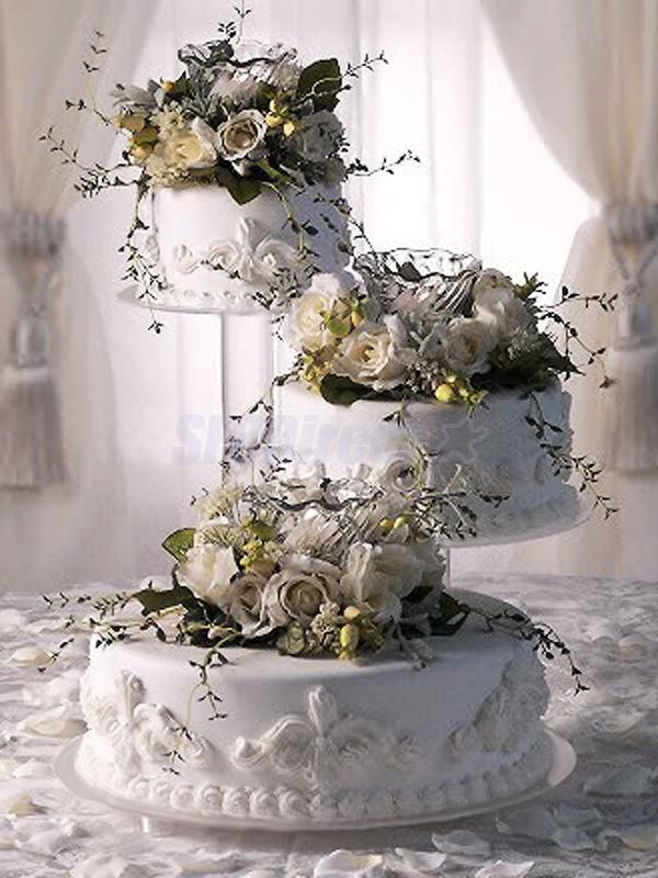 Clear Wedding Cake Stand
