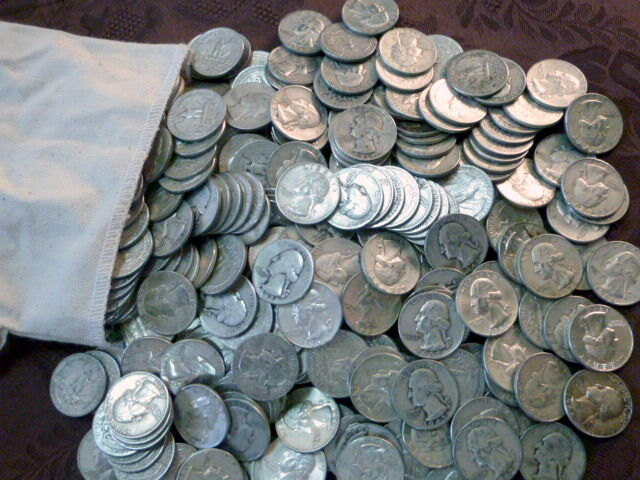 1one Dollar Face Value 90 U S Silver Coin Lot Pre 1965