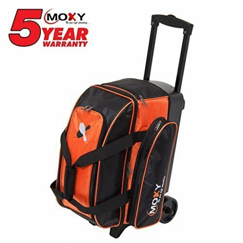 New Moxy Double Roller Bowling Ball Bag Orange Free