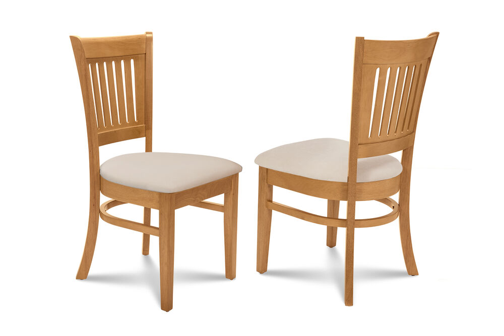 somerville dining kitchen dinette side chairs w cushioned seats in