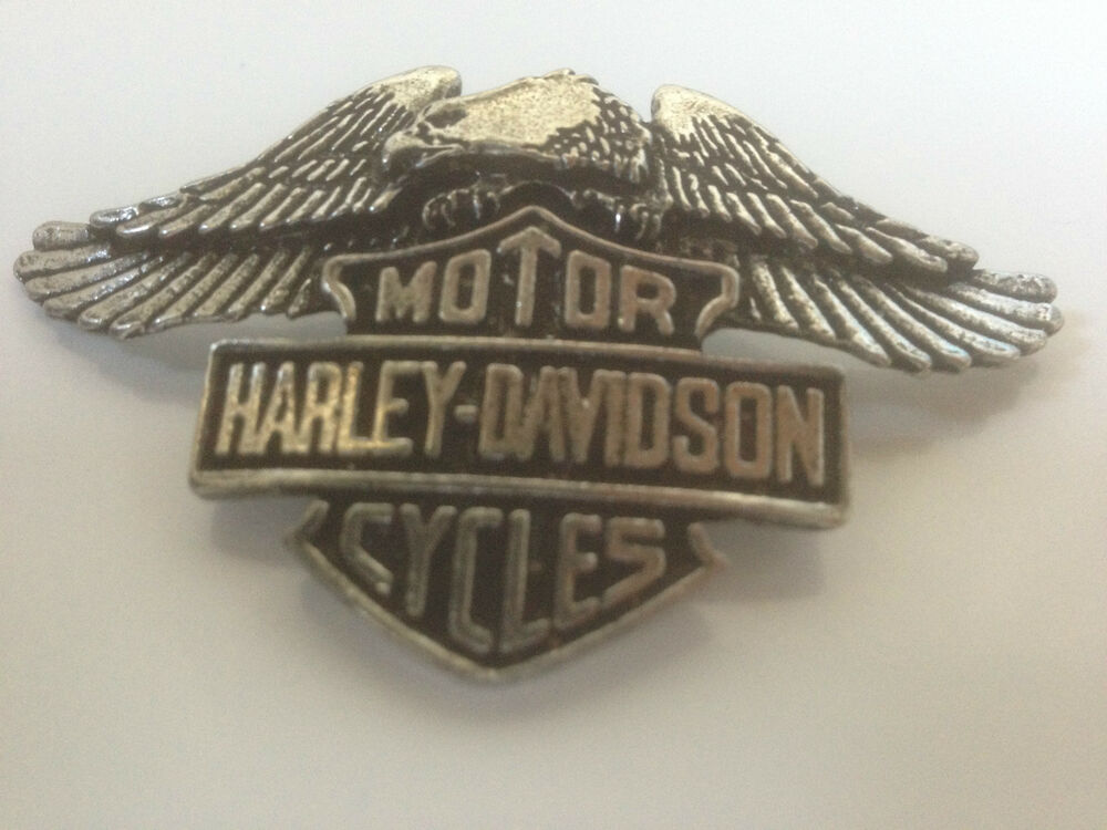 harley davidson pin eagle neu biker mc kutte ebay. Black Bedroom Furniture Sets. Home Design Ideas