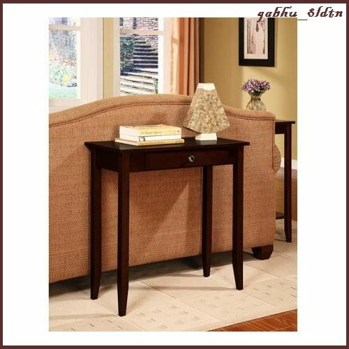 Modern Foyer Chairs : Contemporary console table desk accent furniture hall