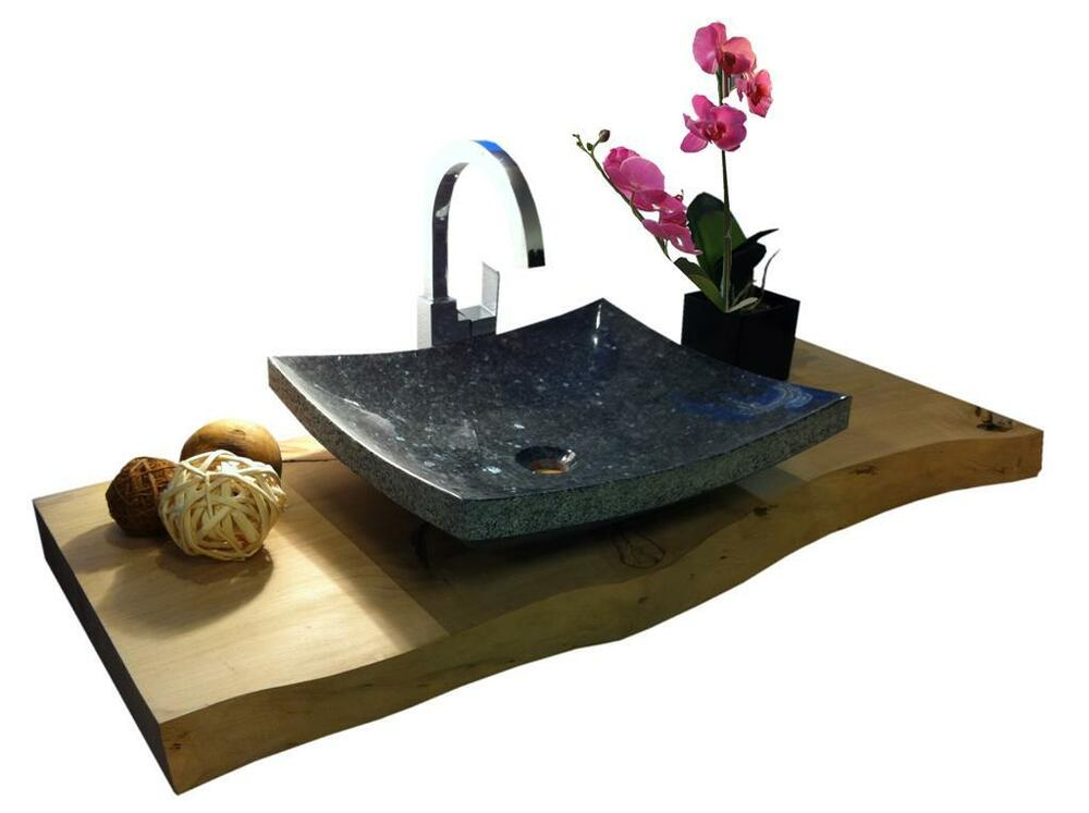 waschbecken aus naturstein granit model dublin 35cm pearl blue g ste wc ebay. Black Bedroom Furniture Sets. Home Design Ideas