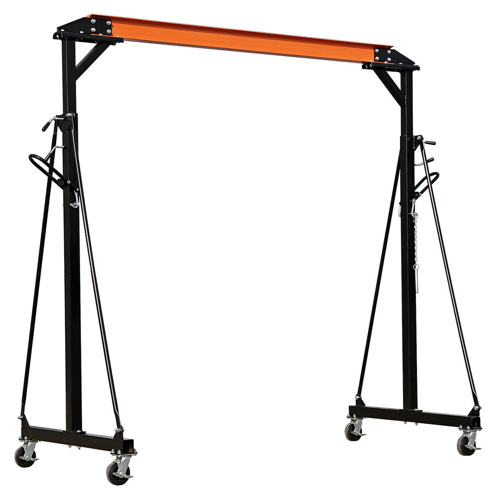 Portable Hydraulic Jib Crane : New sealey sg tonne ton adjustable portable gantry