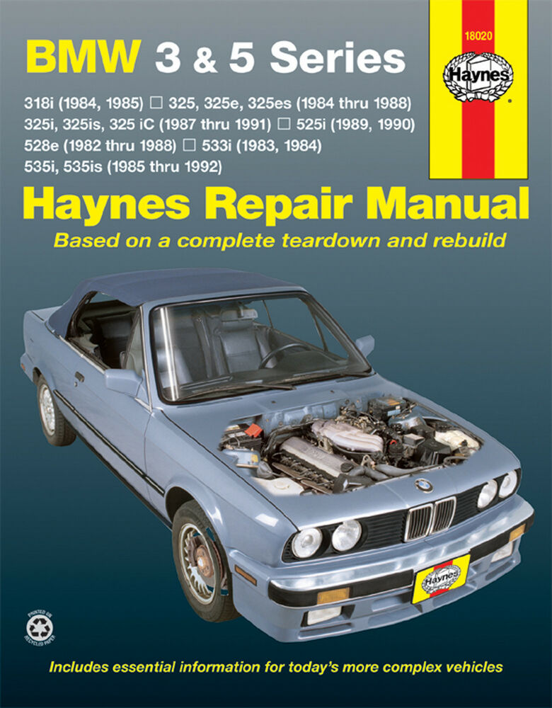 bmw repair manual from haynes haynes is the information. Black Bedroom Furniture Sets. Home Design Ideas