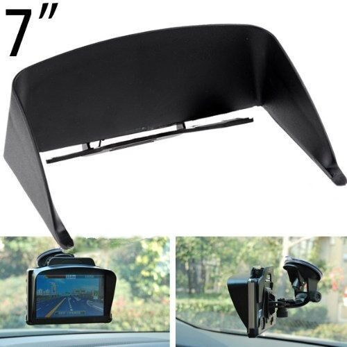 Efreesia Vision Visor Sun Shade Glare Shield Clip For Gps
