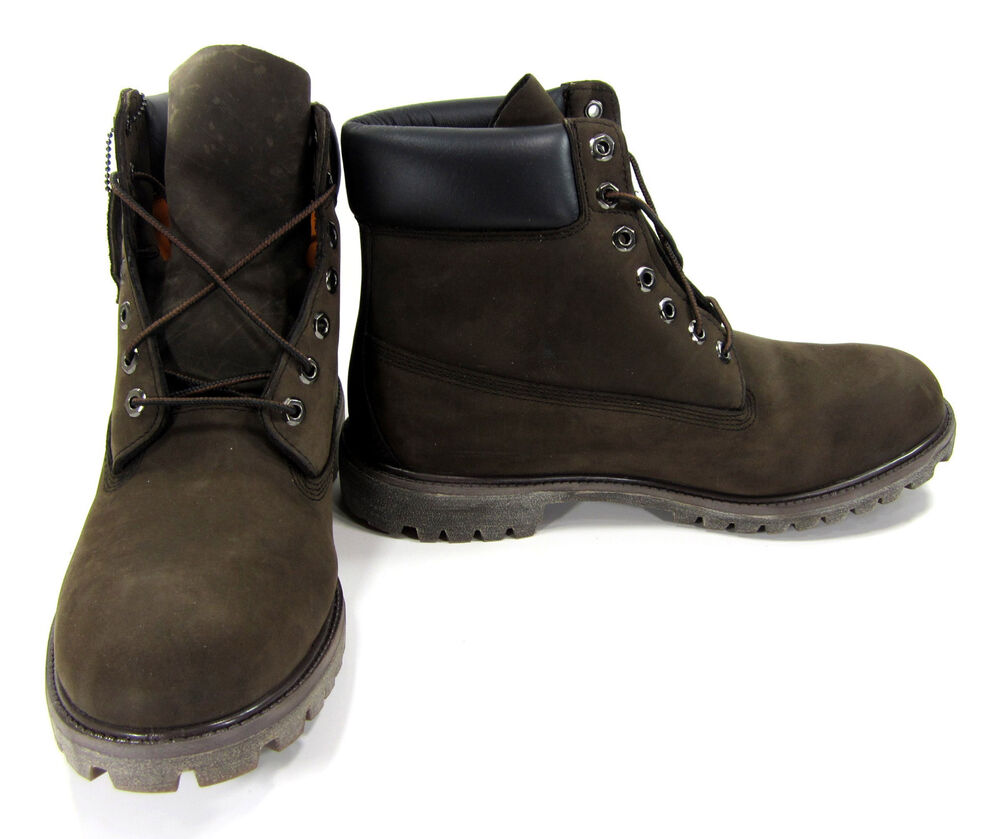 timberland shoes 6 inch premium chocolate brown boots size