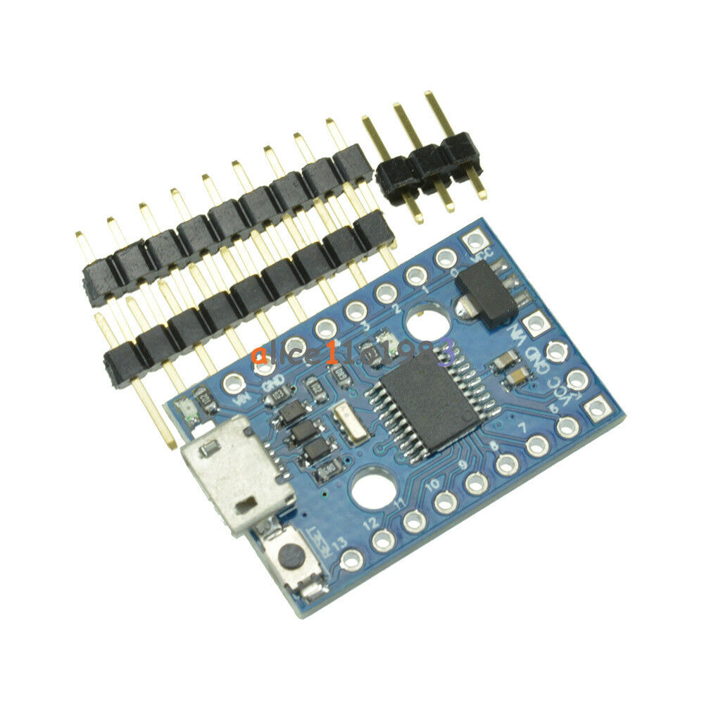 Micro usb digispark pro development board kickstarter