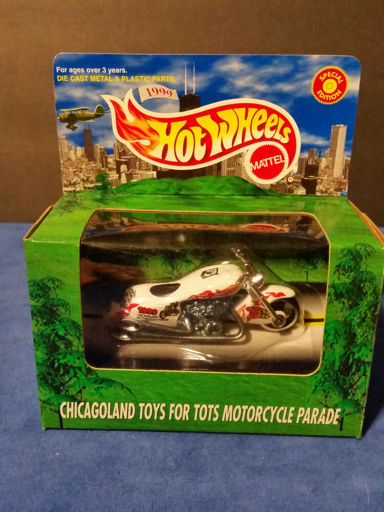 Motorcycles Presiodent Toys For Tots : Hot wheels chicagoland toys for tots motorcycle