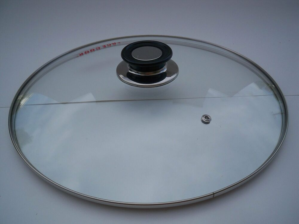 tempered glass lid 24 cm 28cm 32cm diameter ebay. Black Bedroom Furniture Sets. Home Design Ideas