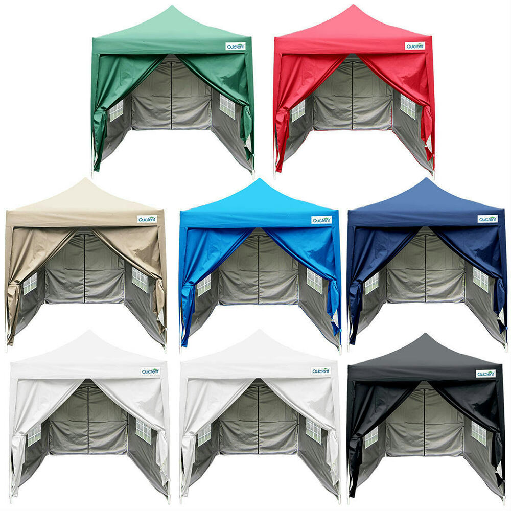 quictent silvox pop up canopy gazebo party tent. Black Bedroom Furniture Sets. Home Design Ideas