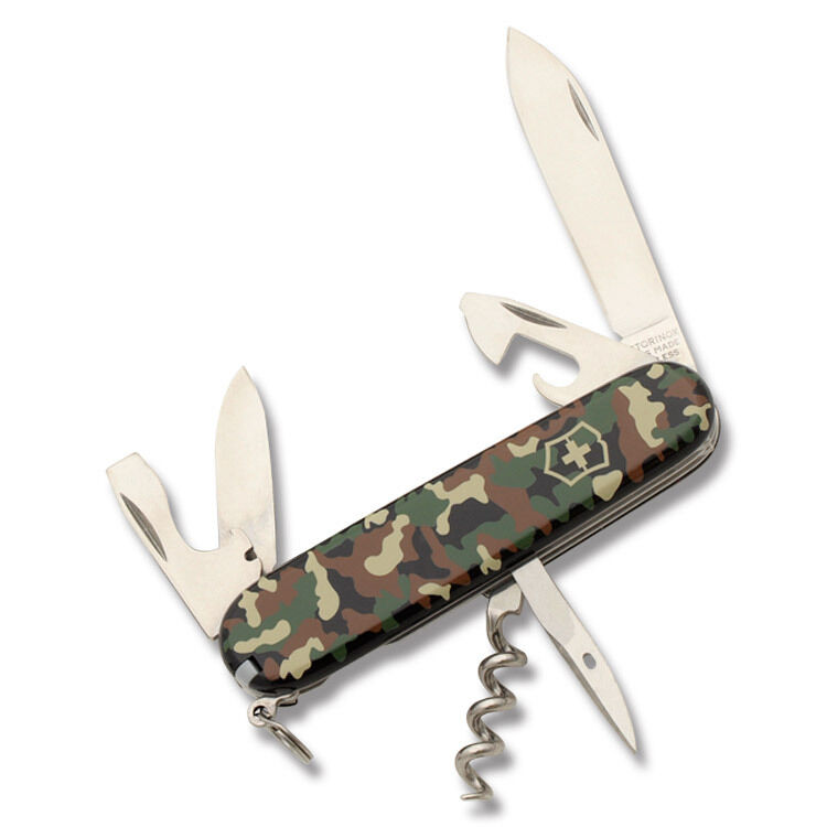 Victorinox Spartan Camouflage Handle Swiss Army Knife New