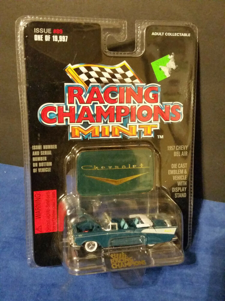 1957 57 Chevy Bel Air Mint Edition Rc Racing Champions