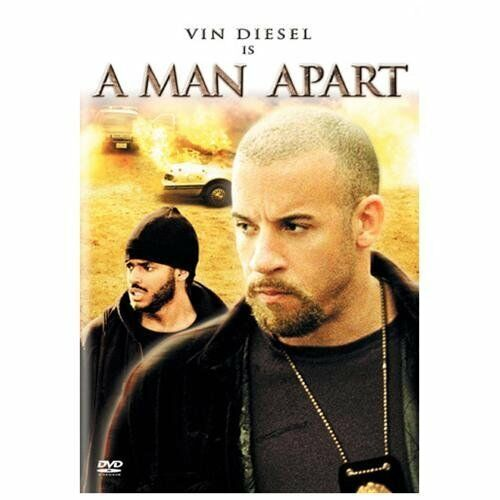 VIN DIESEL IS A MAN APART MOVIE DVD Rated R + Bonuses ...