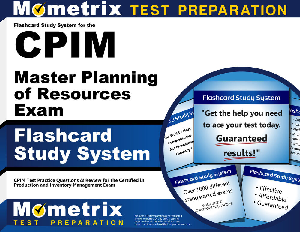 What is the best way to study for an APICS CPIM certification?