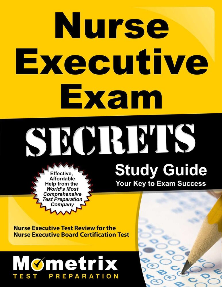 nurse executive exam secrets study guide 9781610723305 |