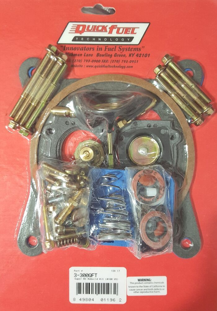 Holley 390 manual Choke kit
