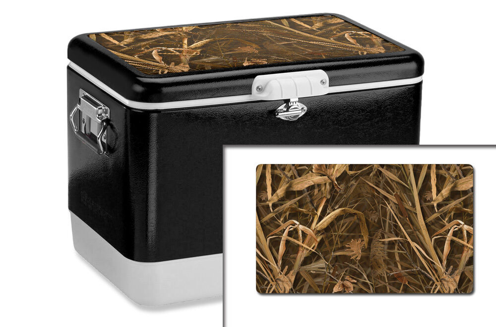 Coleman Camouflage Coolers ~ Mil wrap for coleman qt steel belted cooler lid