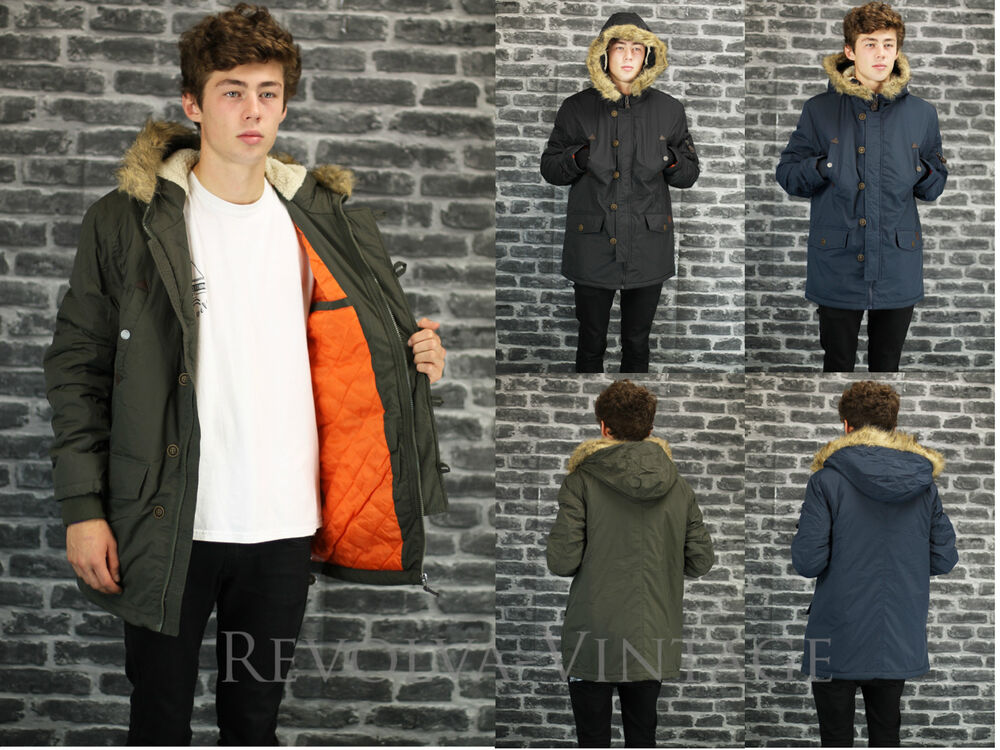 Images of Green Parka Men - Reikian