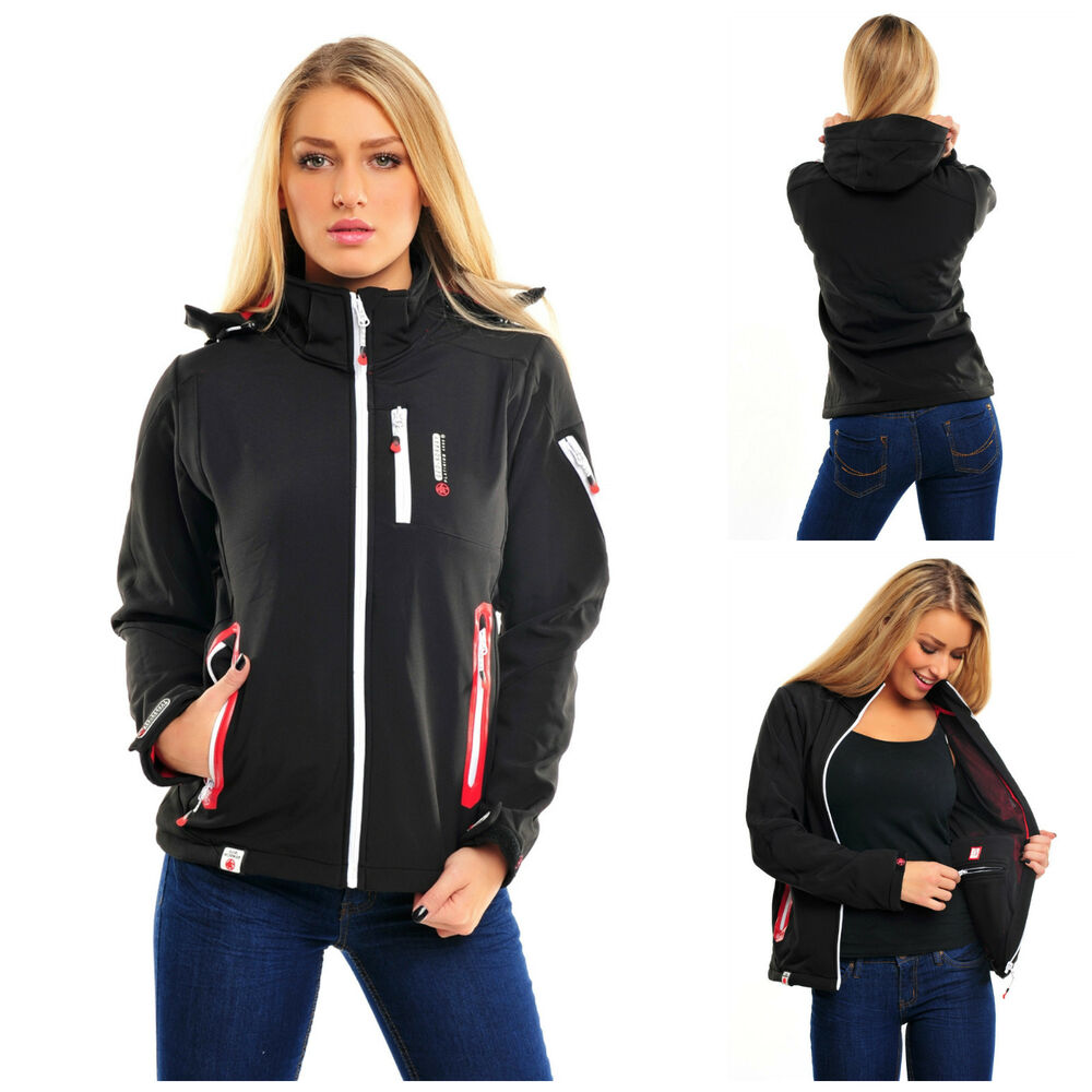 new geographical norway tamara softshell jacket outdoor winter women 39 s ebay. Black Bedroom Furniture Sets. Home Design Ideas