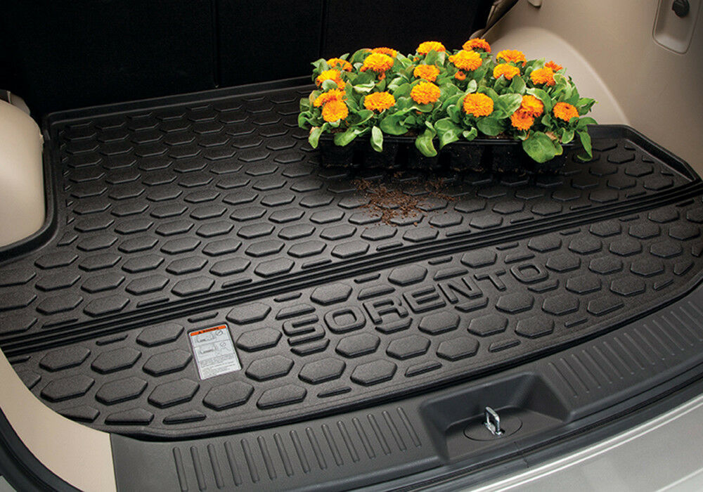 All Weather Mats >> OEM 2014 2015 Kia Sorento ALL WEATHER CARGO TRUNK MAT TRAY LINER PROTECTOR | eBay