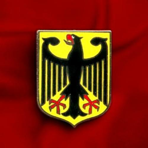 GERMANY EAGLE COAT ARMS CREST GERMAN FLAG LAPEL PIN ...