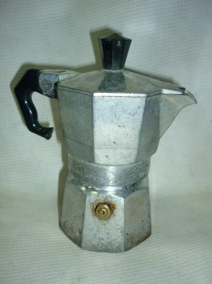 Automatic Drip Coffee Maker History : Vintage Italy Drip Coffee Maker Omegna Junior Express 1969 eBay