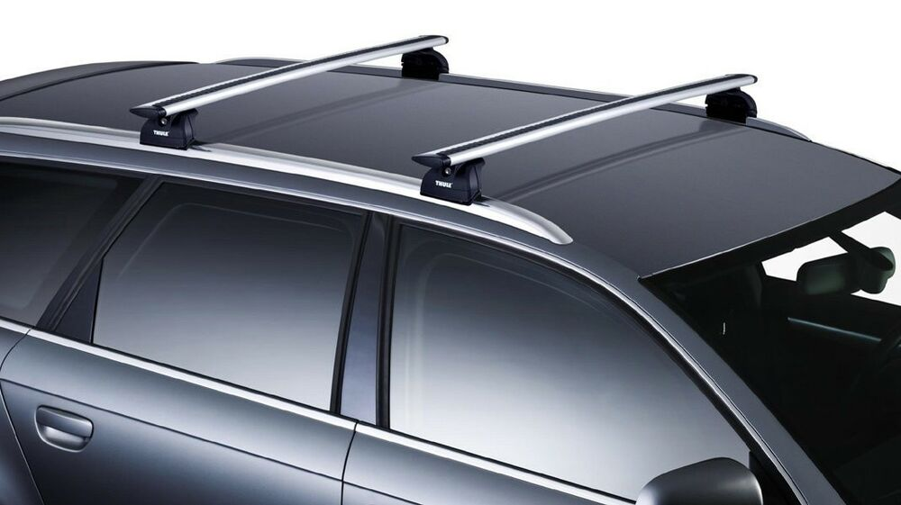 Thule Aeroblade Arb53 Roof Rack Cross Rails Trab4553 Ebay