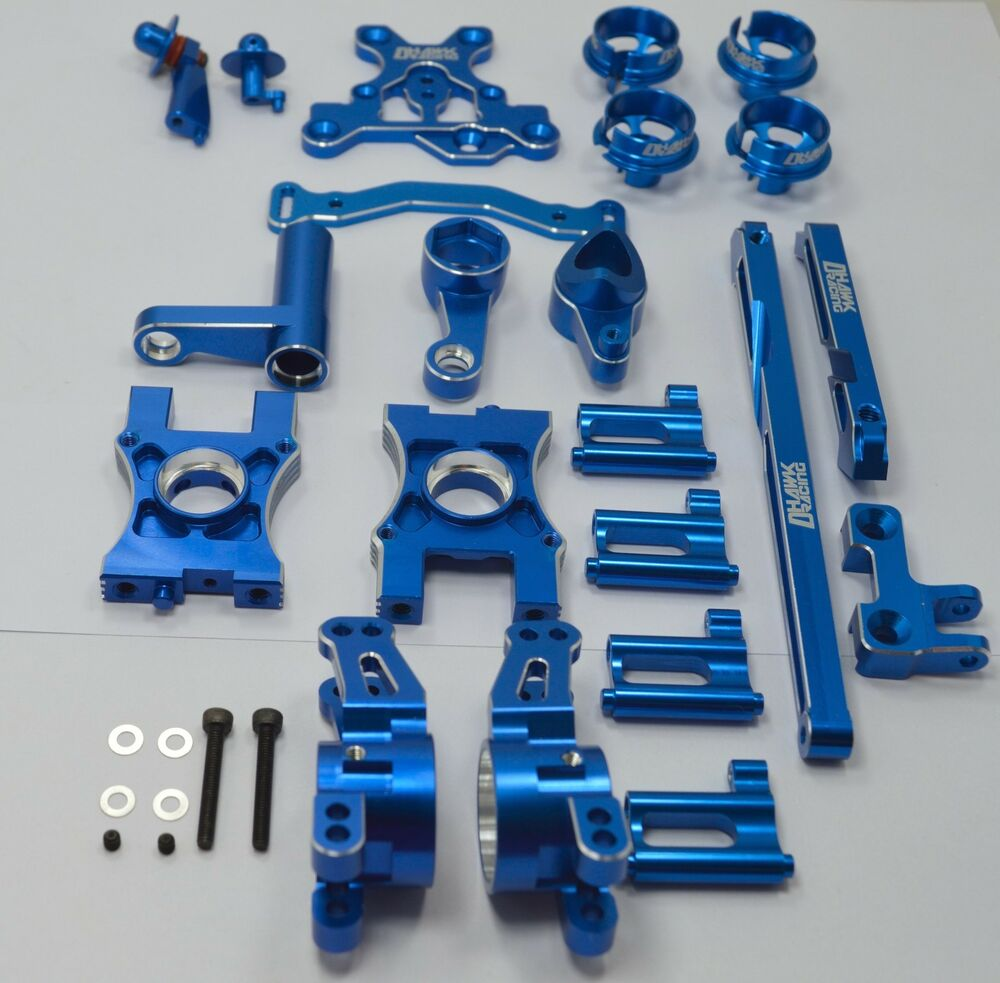 Aluminum Conversion Kit Blue For Team Associated RC8B3 ...