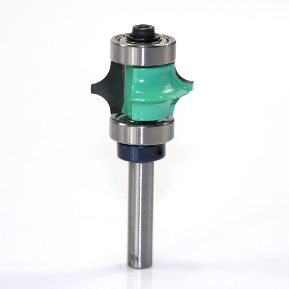 full bead with two bearings router bit 1 4 shank 402541c ebay. Black Bedroom Furniture Sets. Home Design Ideas